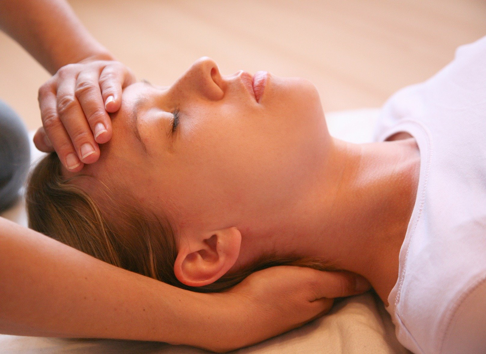 hands on head reiki